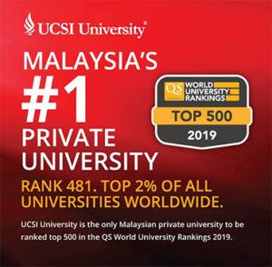 ranking ucsi malaysia