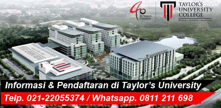 Kuliah di Taylor's Malaysia